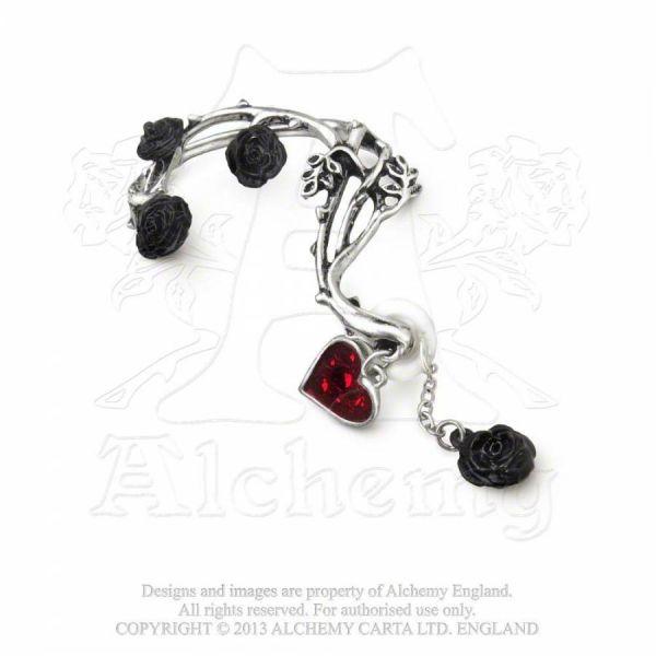 Ohrring mit Rosenblüten - Bed of Blood Roses
