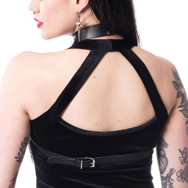 Harness Top mit Ketten und O-Ringen
