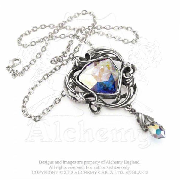 Halskette mit Swarovski Kristallen - Tears from Heaven