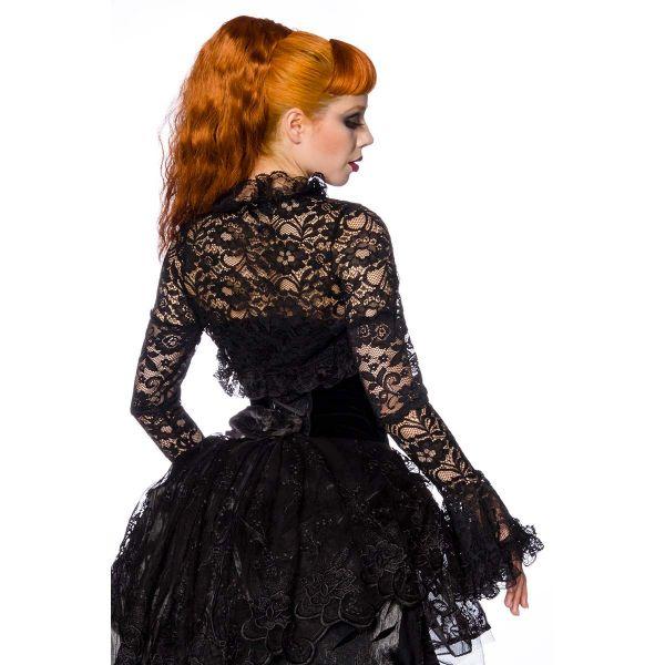 Bolero aus Spitze in viktorianischem Look