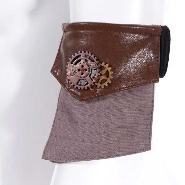 Armband mit Tasche Steampunk Pocket