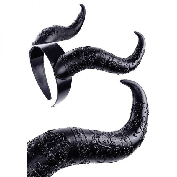 Fantasy Haar Reif - Bad Queen Teufelshörner