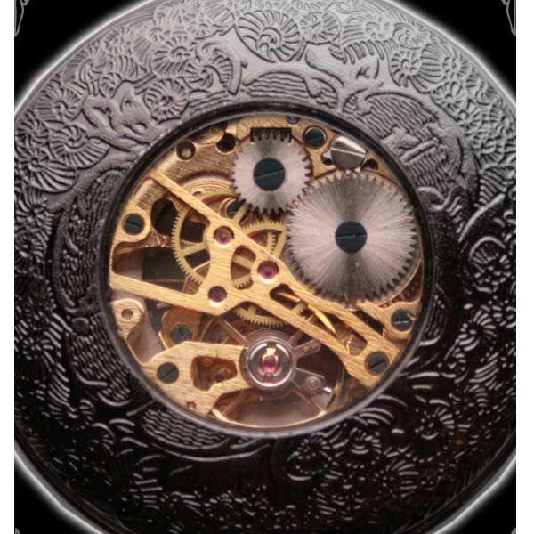Steampunk Taschenuhr mit römischen Ziffern und Kette
