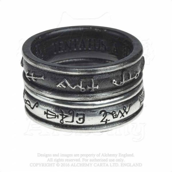 Bandring Set - Demon Black & Angel White