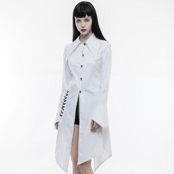 Blusenkleid im Daily Goth Fledermaus Look