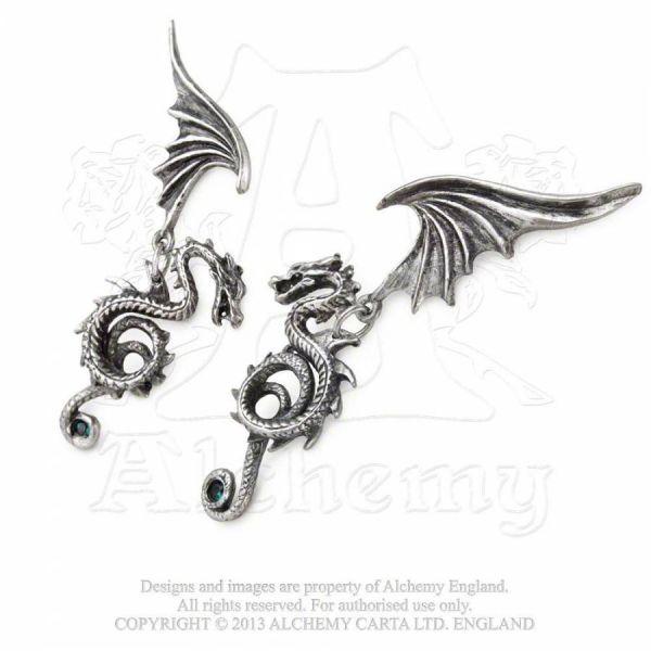 Drachen Ohrstecker - Bestia Regalis