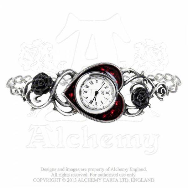 Frauen Gothic Armbanduhr - Bed of Blood Roses