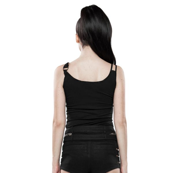 Sexy Tanktop mit Cut-Out im Industrial Look