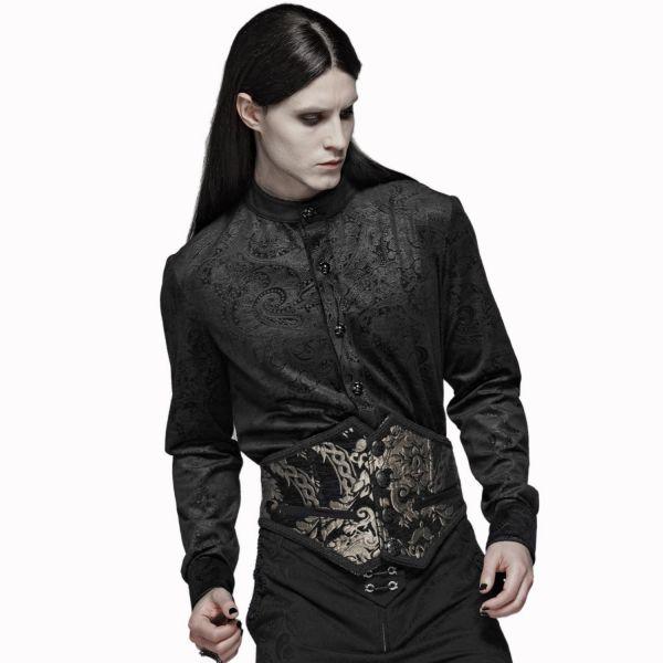 Aristokraten Hemd im Jacquard Look