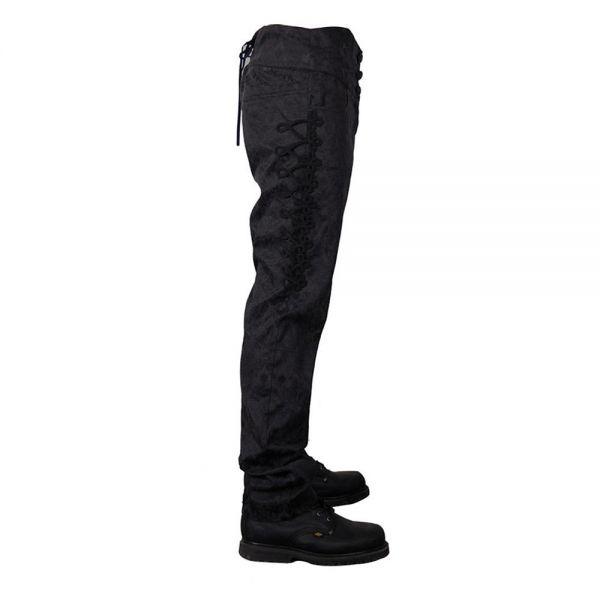 Viktorianische Hose mit Schnürung und Posamentverzierungen