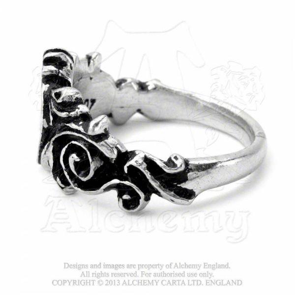Ring mit Herz - Betrothal