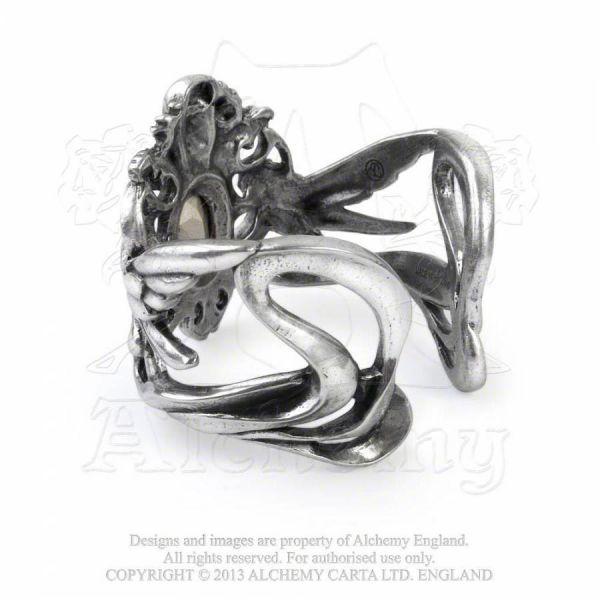 Armreif mit Skull und Elfen - La Fleur de Baudelaire