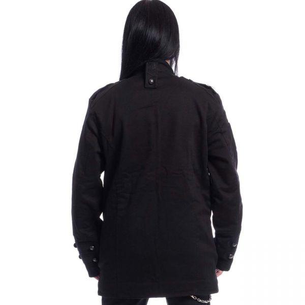 Gothic Uniform Jacke im Urban Style mit großen Taschen
