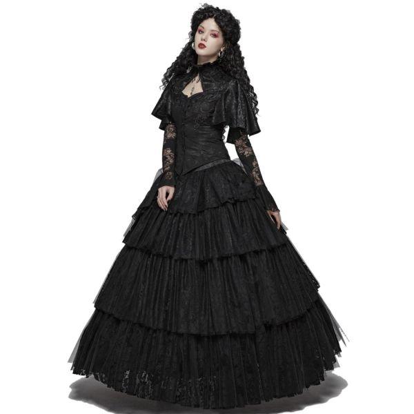 Viktorianischer Hochzeitsrock aus Spitze