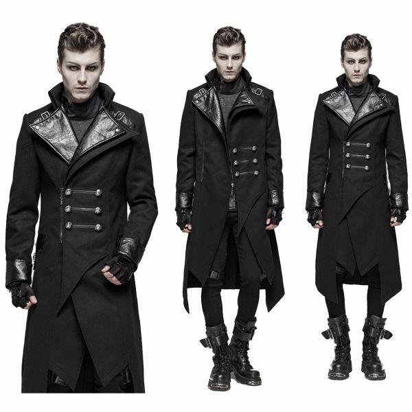 Futuristischer Military Mantel in asymmetrischem Design