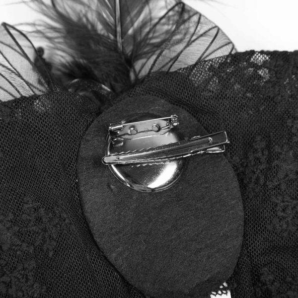 Viktorianisches Styling-Tool als Brosche und Haarclip
