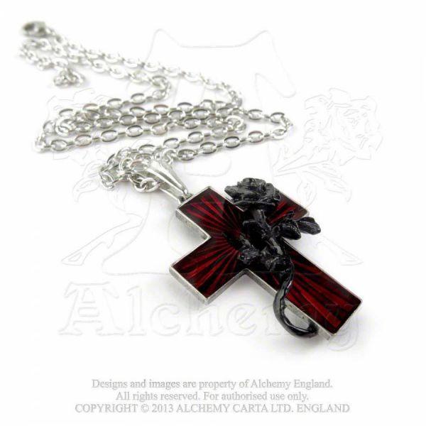 Ketten mit Kreuz Anhänger - Order of the Black Rose