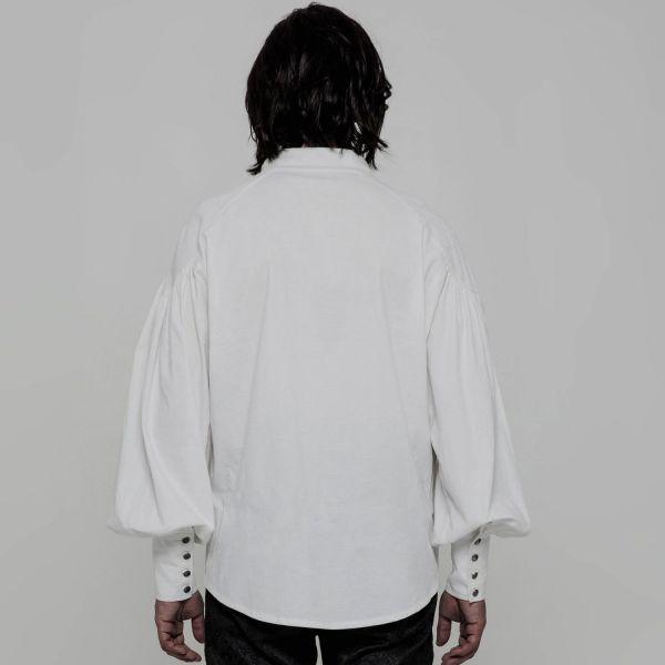 Oversize Mittelalter Hemd mit Schürung