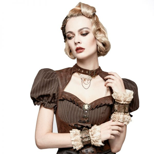 Steampunk Taillengürtel und Arm Manschetten
