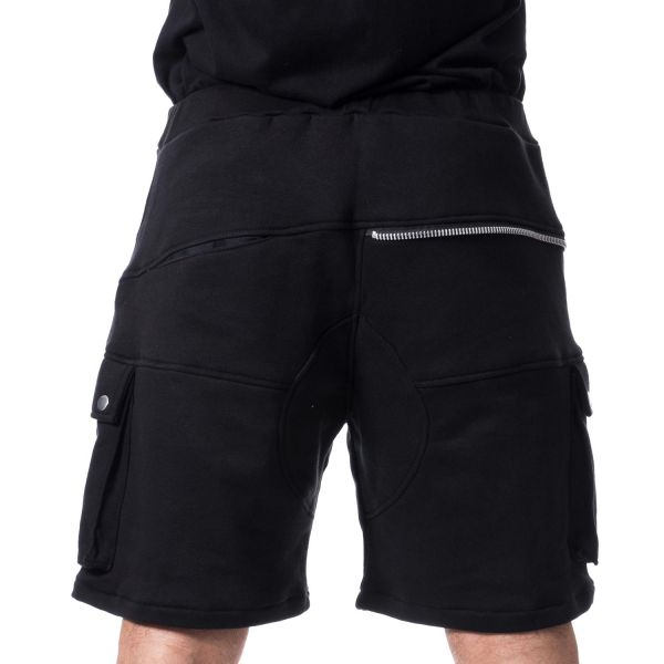 Sweat Casual Shorts im Cargo Look