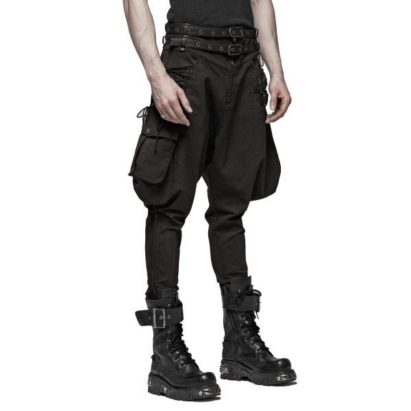 Steampunk Breeches Stiefelhose im Uniform Look
