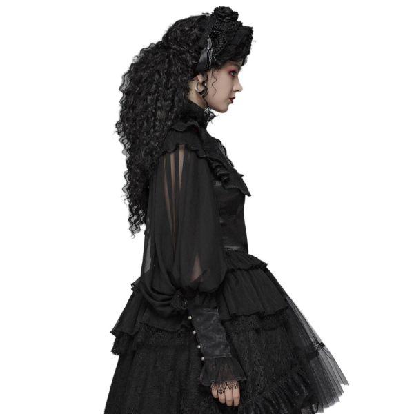 Gothic Lolita Rüschenkragen Bolero mit Ballon Ärmeln