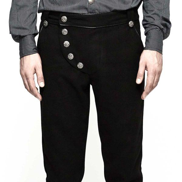 Military Hose mit asymmetrisch verdecktem Zipper