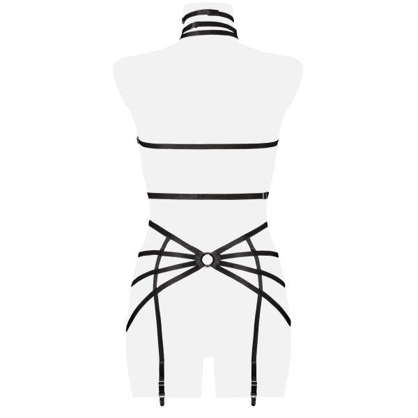 Bondage Straps Dessous Set mit Halsband