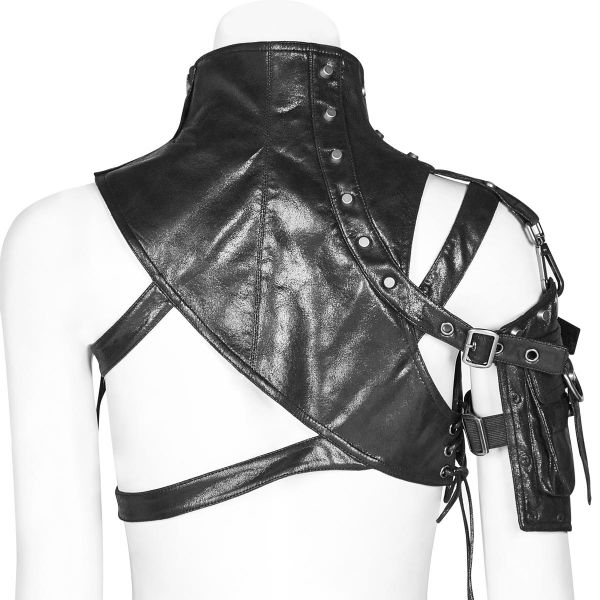 Industrial Style Harness im Kunstleder Warrior Look