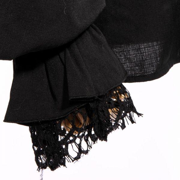 Steampunk Rüschenhemd in viktorianischem Stil
