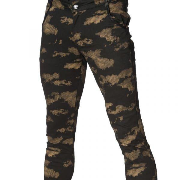 Skinny Hose im Camouflage Style