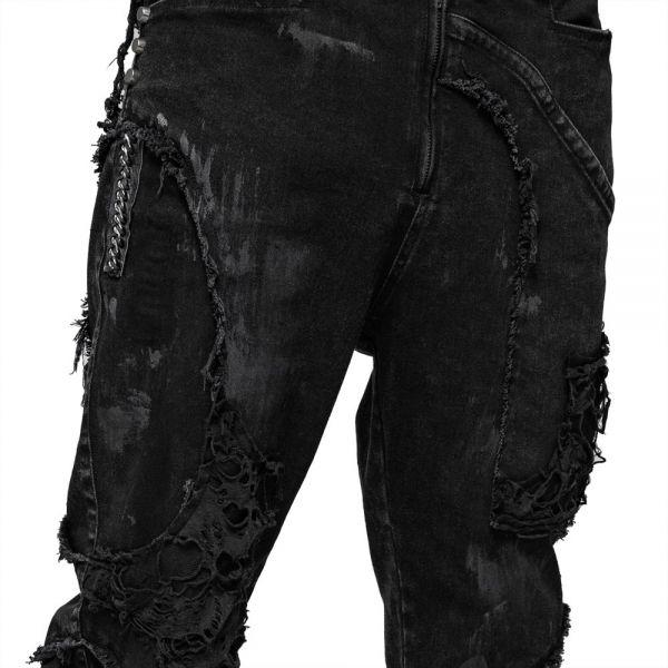 Hose im distressed Grunge Style