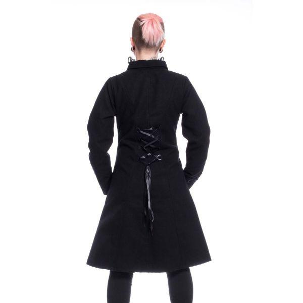 Military Mantel mit Reißverschluß und Schnürung